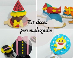 Kit doces personalizados
