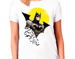 Camiseta Batman Personagem Quadrinhos Camisa Feminina