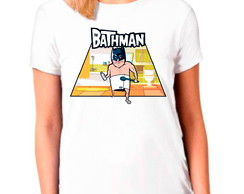 Camiseta Camisa Batman Personagem Quadrinhos Feminina
