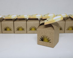 Kit Kraft com Sementes de Flores - Tema Nascer do Sol