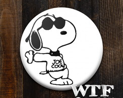 Botton Snoopy Joe Cool