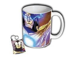 Caneca + Chaveiro Tribunal Vivo Living Tribunal Hq Marvel