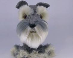 Schnauzer | Padrões de animais de crochê, Urso de crochê ... | 194x244