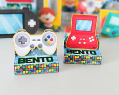 Video Game - Porta Bis duplo PERSONALIZADA
