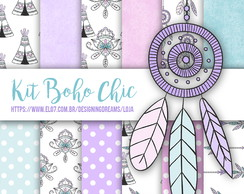 KIT DIGITAL BOHO CHIC 2