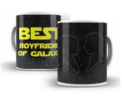 Caneca Star Wars - The Best Boyfriend of Galaxy