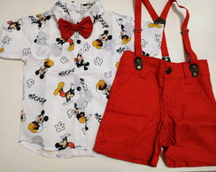 Conjunto do Mickey PRONTA ENTREGA TAM 1,2 E 3
