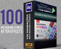 100 Instagram Stories Templates After Effects Animados
