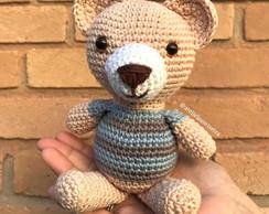 Urso Aviador Apaixonante 💕💕💕 Material Fio Amigurumi Lã para o ... | 194x244