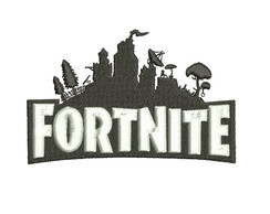 Matriz bordado Fortnite Logo Kaza Hara Bordados
