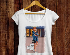 Camiseta t-shirt feminina Anna fashion