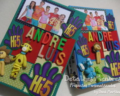 Álbum de Fotos Decorado -Hi5