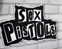 PLACA DECORATIVA SEX PISTOLS