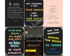 Quadros Com Frases Motivacionais Para Imprimir Elo7