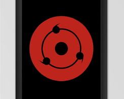 Quadro decorativo Sharingan