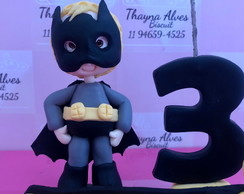 Vela de biscuit batman