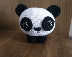 chaveiro bicho bola panda em amigurumi no Elo7   Ateliê Solange ...   194x244