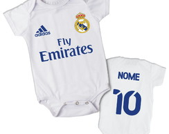 Body Personalizado Real Madrid Para Bebe