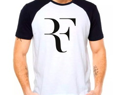 Camiseta Raglan Roger Federer Perfect Camisa Tennis Adulto