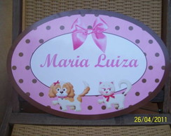 placa pvc pet shop