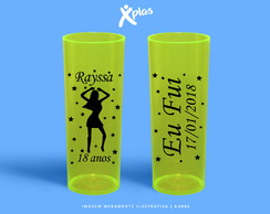Copos Personalizados BALADA | Long Drink 350ml
