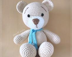 🐻 Como Fazer Amigurumi Urso Passo a Passo - Receita De Ursinho ... | 194x244