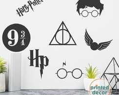 Adesivos Harry Potter