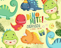 KIT DIGITAL DINOSSAUROS CUTE