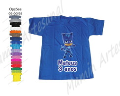 Camisetas divertidas Pj Mask
