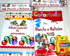 Kit de colorir Patati Patatá