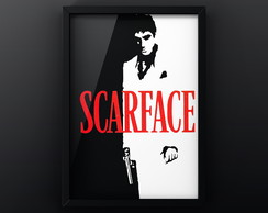 Quadro A3 Poster SCARFACE