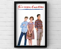 Quadro A3 Poster SIXTEEN CANDLES