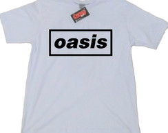 Camiseta Oasis banda punk rock heavy metal