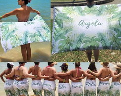 Canga Personalizada Tropical Palm Tree