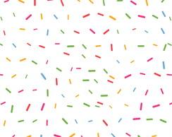 Adesivo De Parede Baby Explosao De Confetes Coloridos 3mt No Elo7