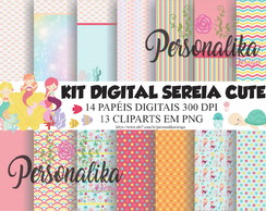 KIT DIGITAL SEREIA CUTE