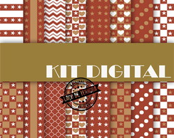 Papel Digital Especial Brown