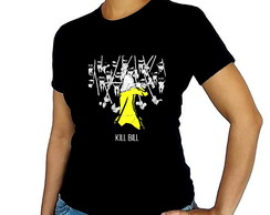 Camiseta baby look Kill Bill