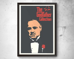Quadro A3 Poster THE GODFATHER