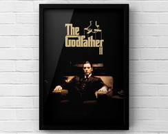 Quadro A3 Poster THE GODFATHER II