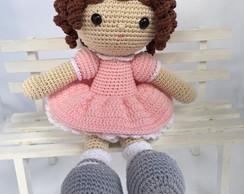 Boneca Duda oriental Mini amigurumi no Elo7 | Crochetados por ... | 194x244