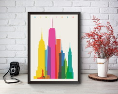 Quadro Decorativo New York