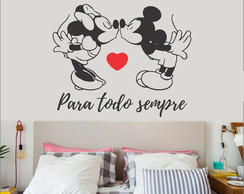 Adesivo Decorativo Minnie e Mickey Lovers