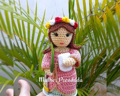 Here's A Crocheted Child Baby Amigurumi That You Can Make Yourself ... | 194x244