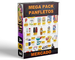 Panfletos Mercado Supermercado Editáveis Corel Draw