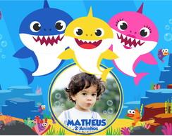 Decoracao De Parede Tema Baby Shark Elo7