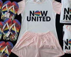 Kit Festa do Pijama do Now United