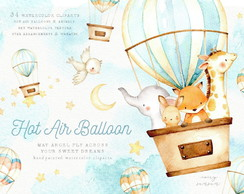 kit digital hot air ballon