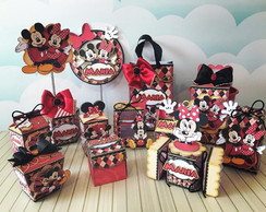 KIT DIGITAL FESTA MICKEY E MINNIE