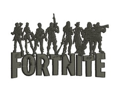 Matriz bordado Fortnite Personagens Kaza Hara Bordados
